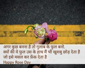 रोज डे की शुभकामनाये 2019 - Rose Day Wishes in Hindi